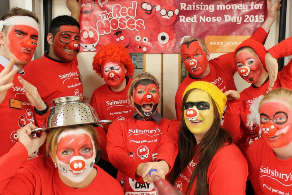 Sainsburies Red Nose Day