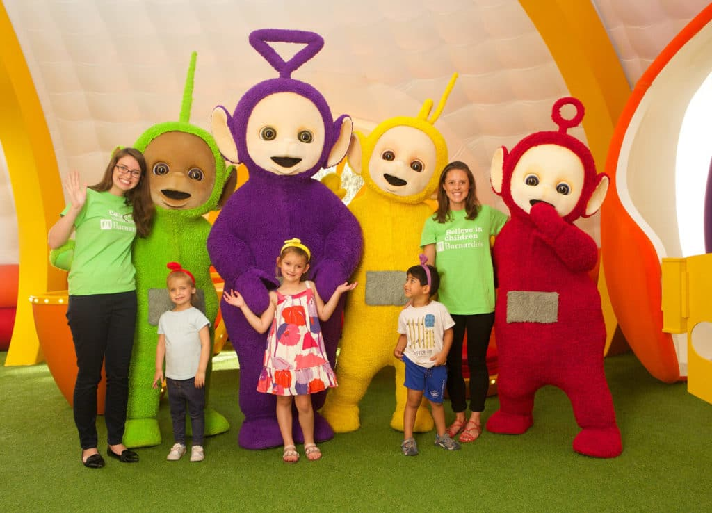Teletubbies bernados