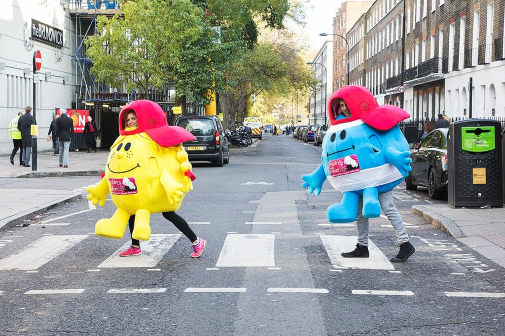 Mr Men Children with Cancer