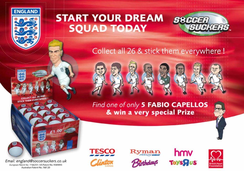 Soccer suckers advert