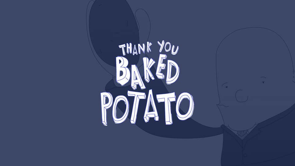 Thank you baked potato featured image