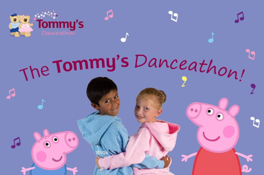 The Tommy's Danceathon poster